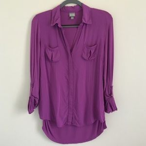 Converse One Star long sleeve blouse